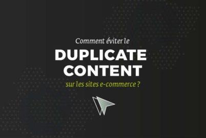 contenu dupliqué / Duplicate Content