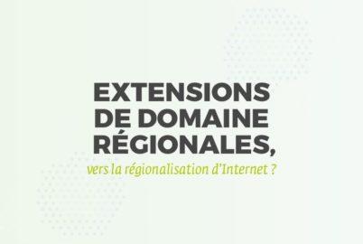 extension de nom de domaine régionale