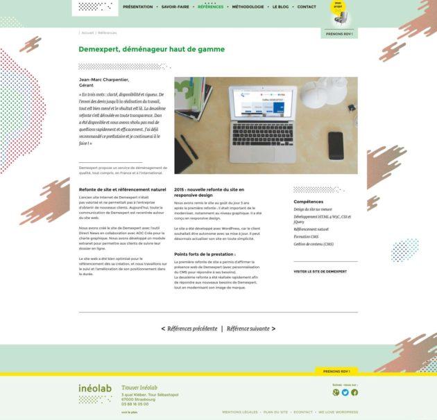 Article du blog Ineolab : Inéolab fait peau neuve avec un nouveau site web
