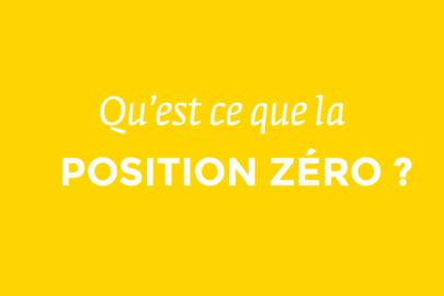 la position zéro