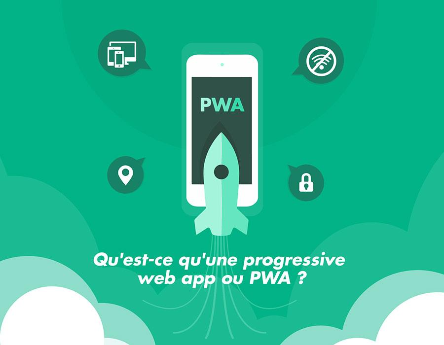 Qu'est-ce qu'une progressive web app ou PWA ?