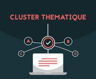 entete de l'infographie sur le cluster thématique
