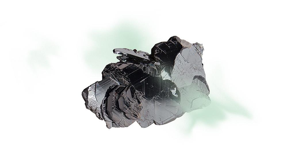 rocher vert pale