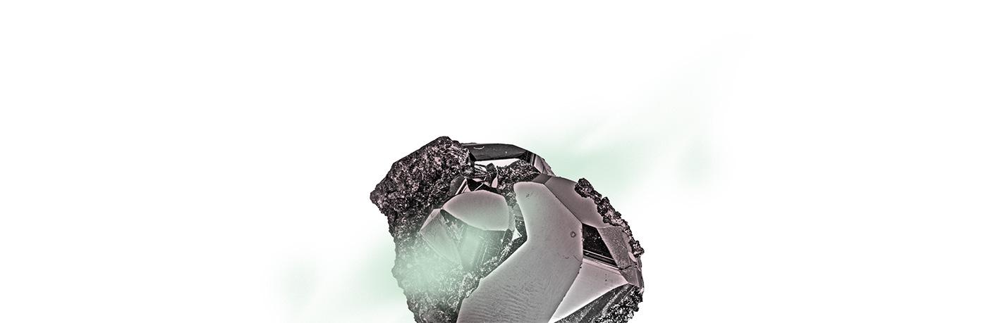 rocher vert pale dessus