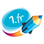 1.fr logo